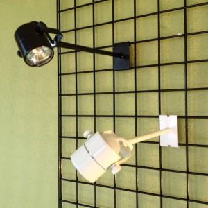 2x3 Halogen Slatwall Gridwall Display Light