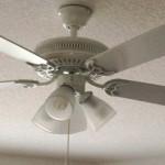 Ceiling Fan Before Lightkit